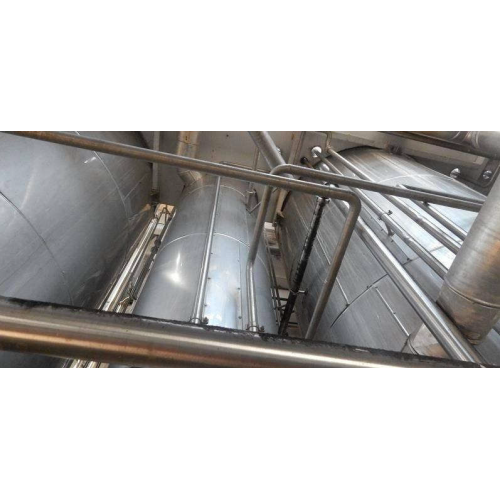 Evaporator plant / evaporation for apple juice concentrate / fruit juice concentrate