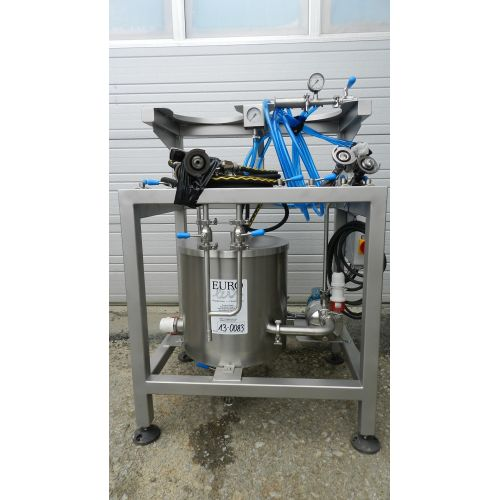 KEG wash- and filling machine Typ UPK-2 A-System,