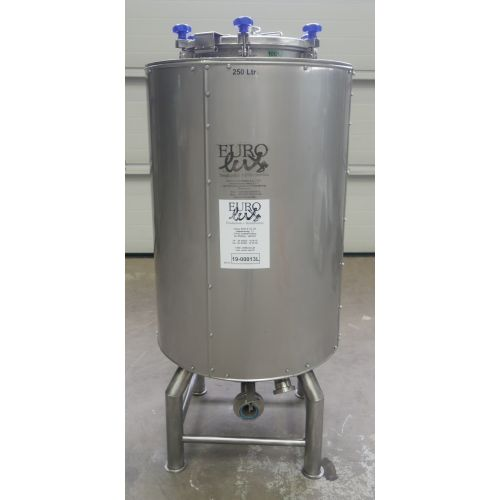 250 liter Pressure Tank / Beer Tank/ Storage Tanks with cooling jacket and isolation