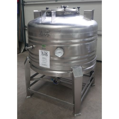 500 liters Storage Tank/Beer-Tank / Pressure Tank in AISI 304