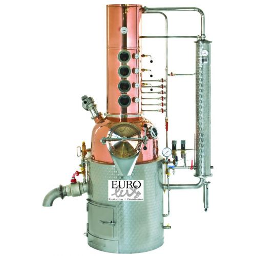 Eurolux-distill 200 litres pot volume,