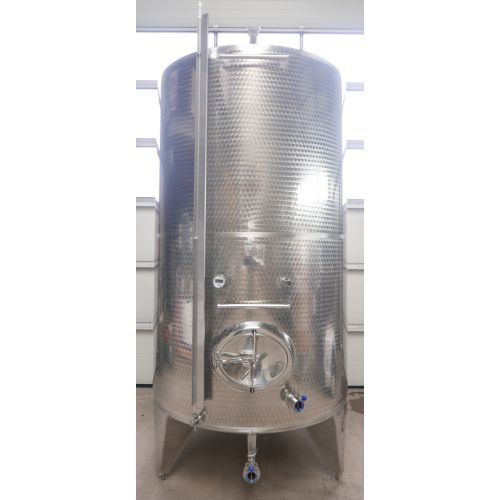 10.250 liters Storage tanks outside marbled for wine, water, fruit juice, schnapps