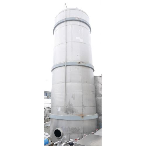 50.000 Liter Storage Tank in AISI 304 with flat bottom