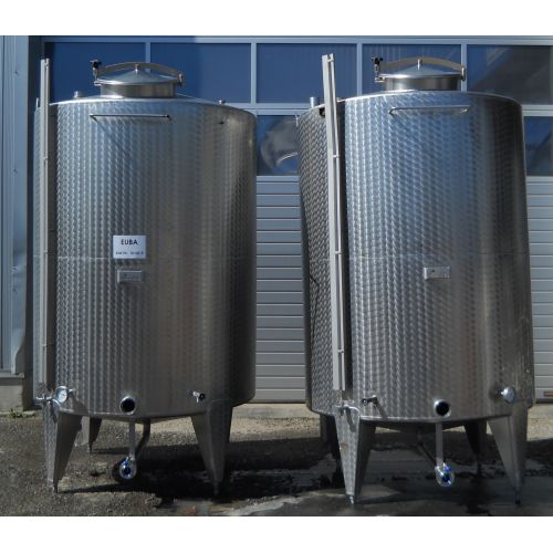 4.500 liter Storage tank for wine, beer, sparkling wine, water, fruit juices, oil etc.