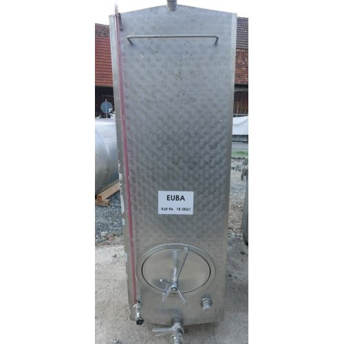 Storage tank outside marbled for wine, water, fruit juice, schnapps