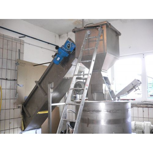Band press Flottweg B-FRU-800-HK Capacity: 2 – 6 t/h (cold cider apples)