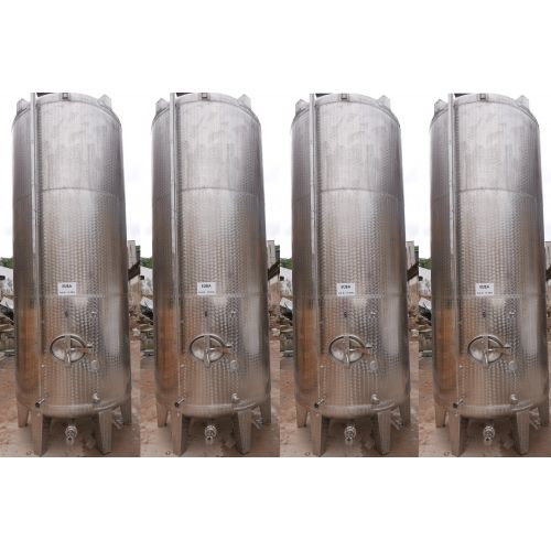 8.600 liter storage tanks outside marbled for wine, water, fruit juice, schnapps