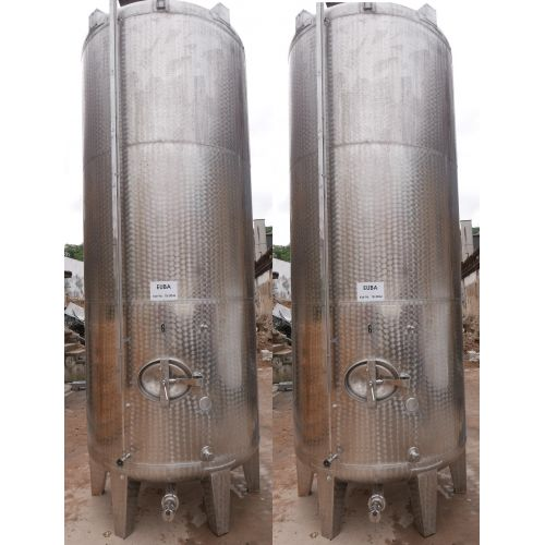 19.160 liter Storage tanks outside marbled for wine, water, fruit juice, schnapps