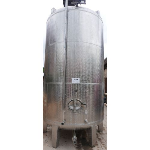 14.300 liter Storage tank outside marbled for wine, water, fruit juice, schnapps