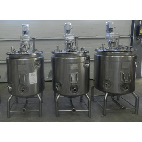 Mixing Tank with isolation / Pressure Tanks 250 Litre in AISI 304