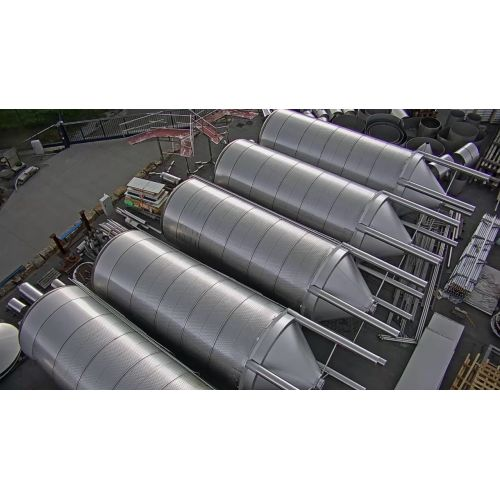 Beer tanks / fermentation tanks and storage tanks 118.700 Liter