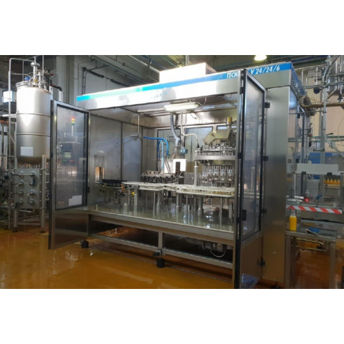 Complete bottling filling line