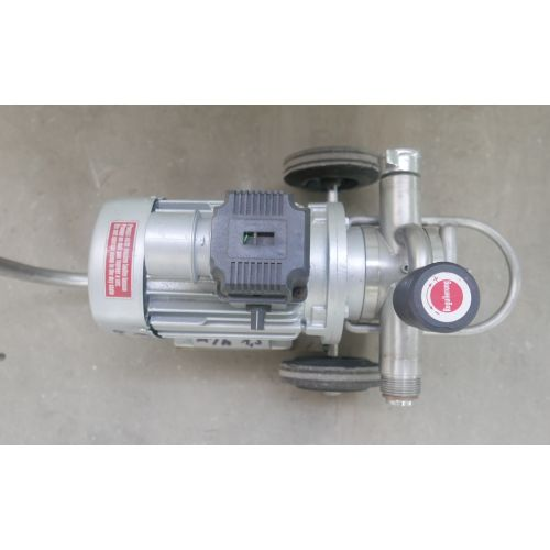 Impeller pump Capacity: 1,5 m3/h