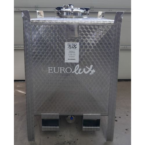 1.000 Liter multifunctional tanks, transport und storage tanks with cooling jacket