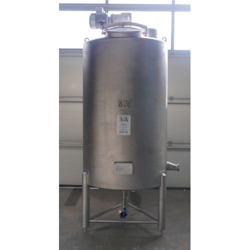 1.400 liter Mixer tank with paddle agitator