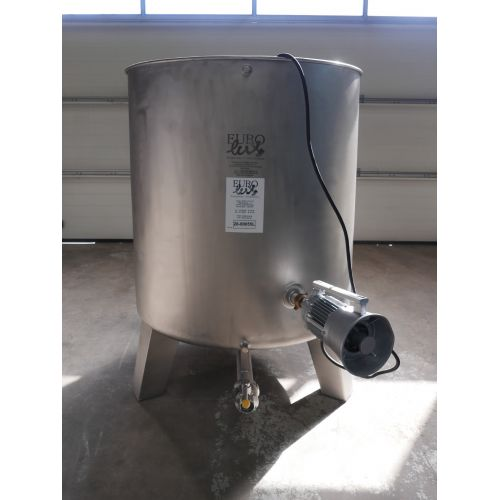 1.200 liter Mixer tank with paddle agitator