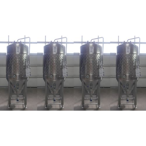 500 Liter CCT/ Storage Tank / Pressure Tank with cooling jacket 0,99 bar