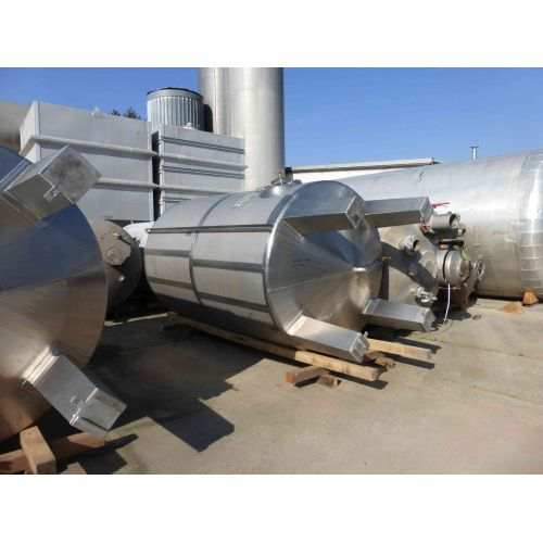 10.000 liter Storage tanks/ stainless steel tanks