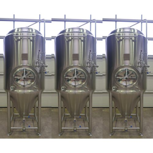 15.000 Liter CCT/ Storage Tanks / Beer Tanks / Pressure Tanks in V2A