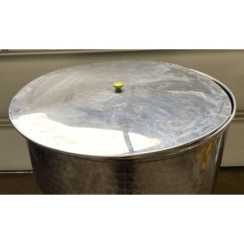 1.000 liter Open storage tank with lid