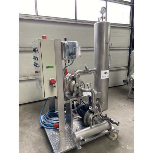 VELO flotation system PRI 100 for clarifying grape musts Capacity: 20.000l/h
