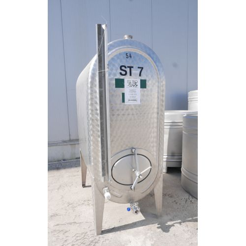 1.200 liter Storage Tank in V2A for wine, water, fruit juice, schnapps