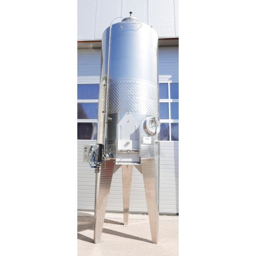 Mixer tank, mash tank 2.300 Ltr. with cooling jacket