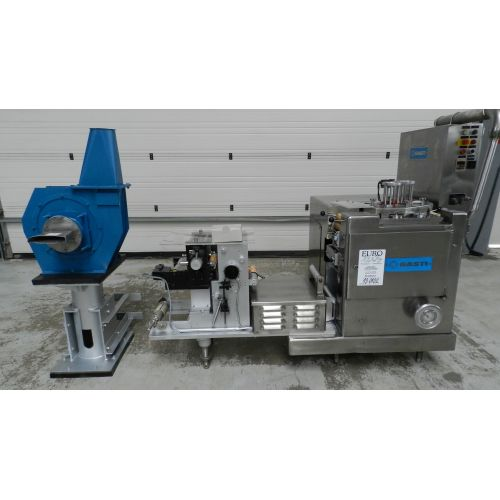 aluminium flat cover punching machine GASTI,