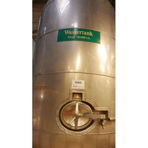16.000 litre Storage Tank/ Watertank with Isolation