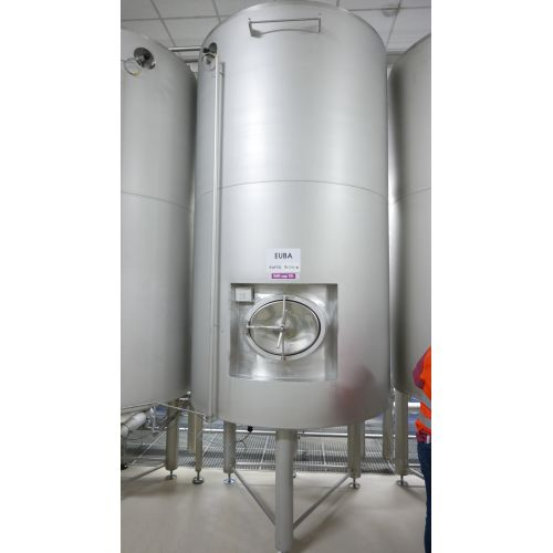 4.100 litre Storage Tank CIP-Plant- stack water