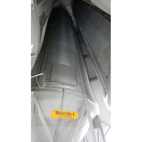 Malt silo Capacity: 60 tons per hour