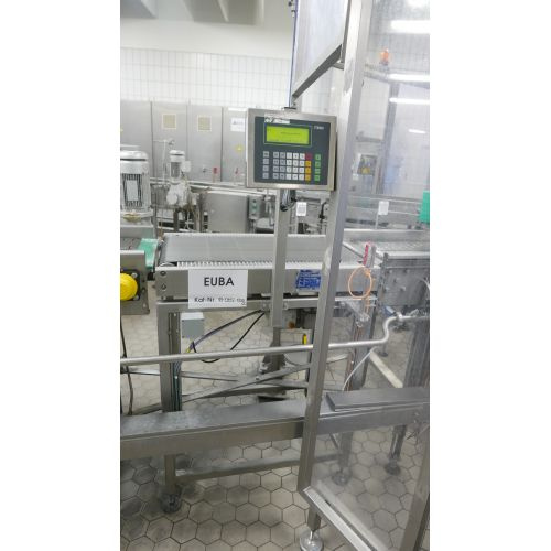 Control/Check weigher – empty scales
