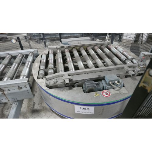 Pallet swivel unit for Euro pallets