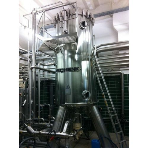kieselguhr filter SCHENK ZHF-90 D3 in stainless steel,