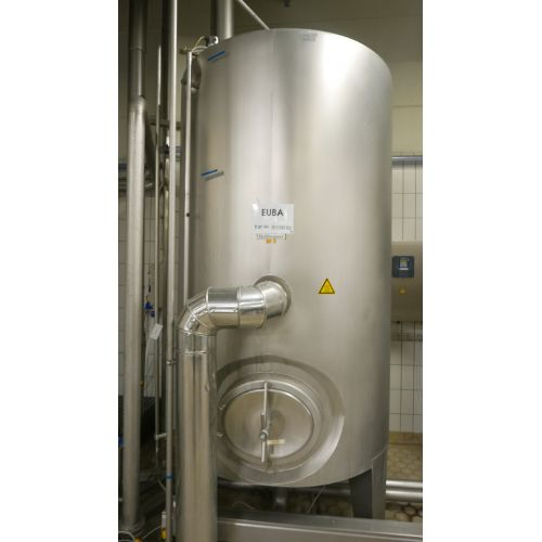 5.000 Liter Hot Water CIP Tank, APV