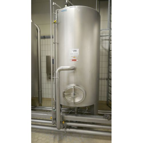 5.000 Liter Disinfection CIP Tank, APV