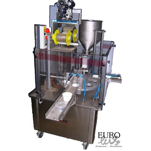 Cup filling machine Easyline, capacity: 1.000 cups/h