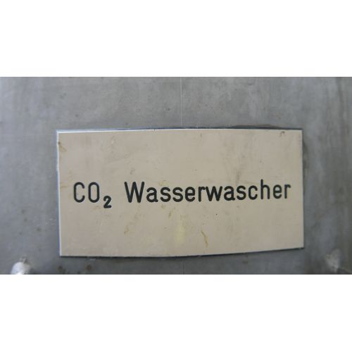 CO2 Waterwasher - CO2 Extraction 2, Mehrer Verdichtung