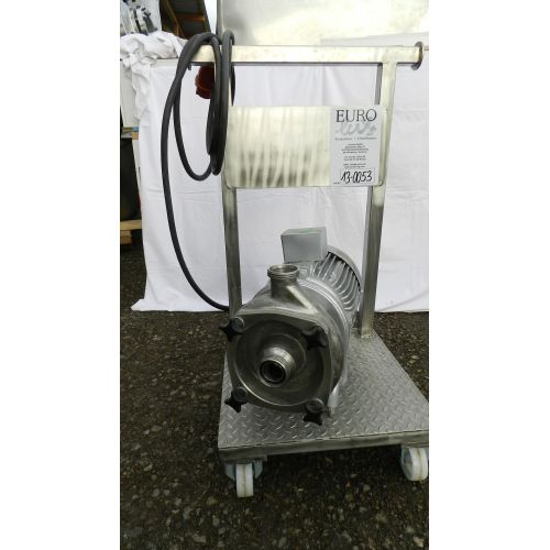 centrifugal pump WIKING in stainless steel, normal priming, horzontal,
