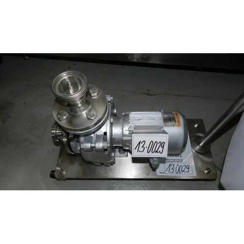 centrifugal pump EDUR, stainless steel, used,