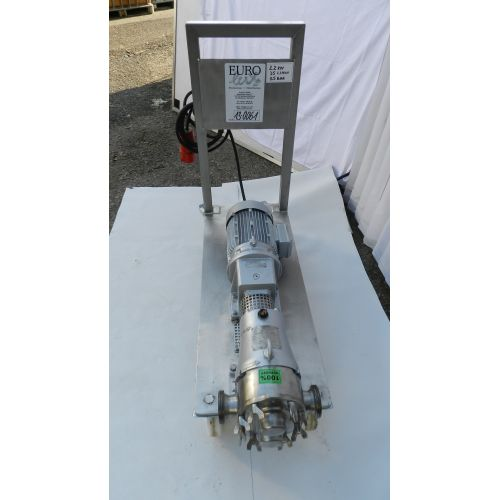rotary piston pump INDAG HTIRM 40 VT-D, used,