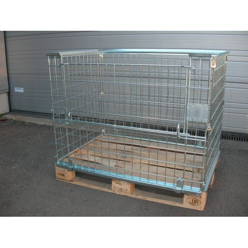 Lattice Boxes, Cages for Euro-Pallets