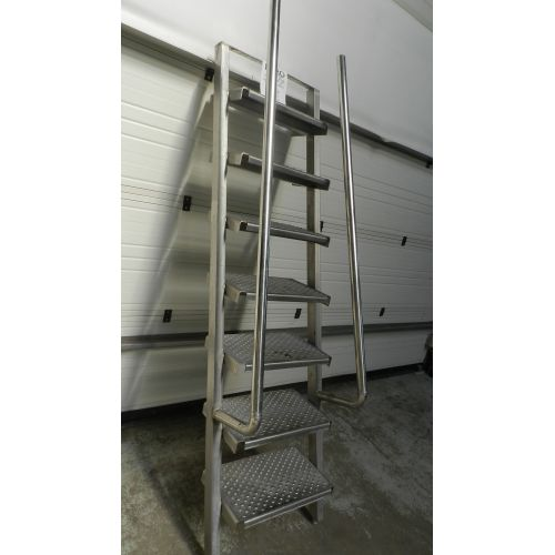 stainless steel staircase,