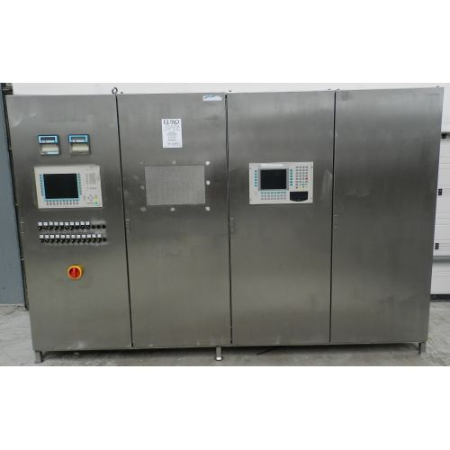cabinet in stainless steel,