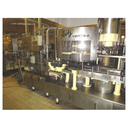 Pressure Filler SEITZ VENTA F with 32 filling stations,