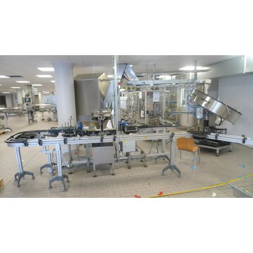 cream jar filling line,
