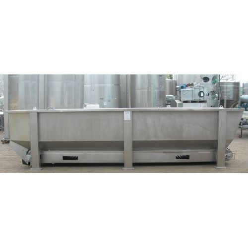 Bunker/Intermediate bunker/Storage bunker in stainless steel