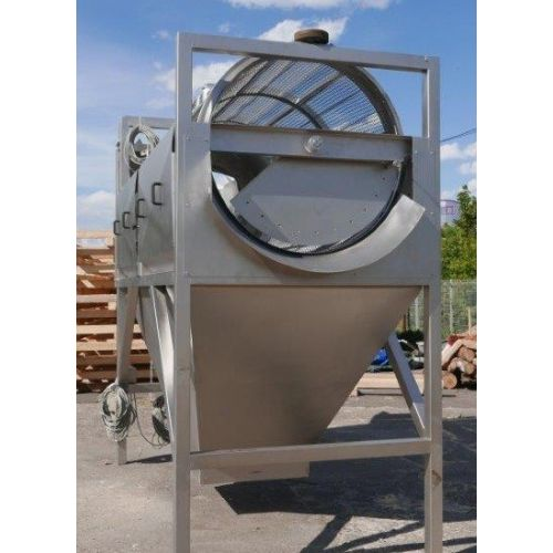 Drum enterder, Screen drum enterder, Drum cleaner in AISI 304,