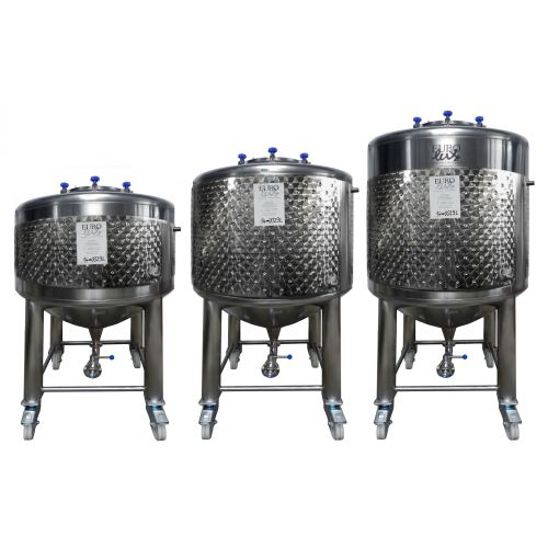 storage tank/beer tank 600 - 1000 litres with cooling jacket,