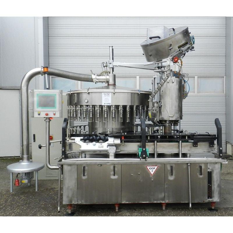 Filler/Glass filler SEITZ with capper MC28 with 40-stations
